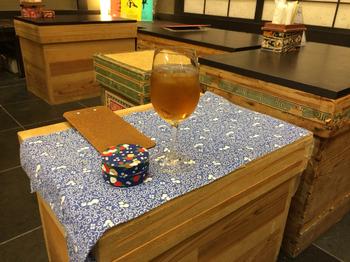伝統をアレンジした、日本茶の楽しみ方の新しいスタイルを提案。日本茶ベースのオリジナルフレーバーティーが楽しめるのがこちらの特徴です。