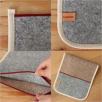 汎用的なカーペット素材で作られたマルチカバー。質感が面白く、男女を問わず使うことが出来ます。