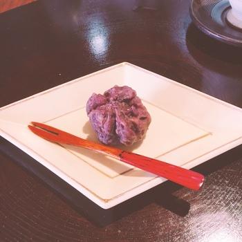京都らしい素材を使った、美味しいデザートもあります。
