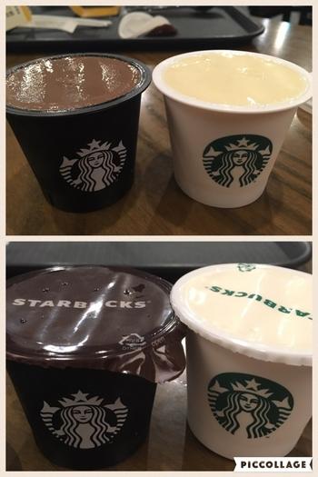 韓国ではこちらの画像のように白と黒のカップが特徴的でしたが、日本では主に白のカップになっているようです。