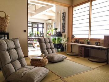 こちらの和室にはもともと掘りごたつがありましたが、収納してしまうことでより実用的な空間に生まれ変わったそうです。住む人のライフスタイルに合わせて、使いやすくすることも大事なポイントですね☆