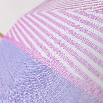 槙田商店は、江戸末期から甲斐絹織物卸業として技術を積み重ねており、非常に高い技術を誇っています。