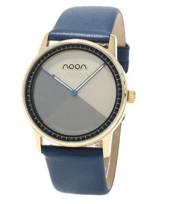 noon ヌーン・・・「色を愉しむ」というnoonブランドのもつ最大の魅力をより体感できる腕時計です。  モノトーンでまとめた上品なデザインが大人な雰囲気ある一品。