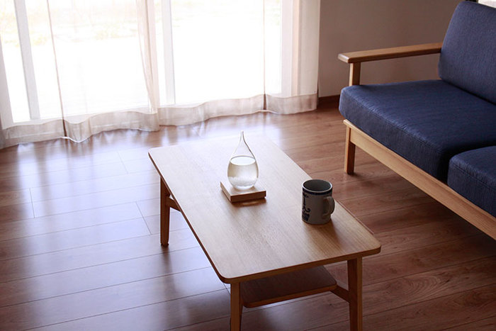 ダイニングテーブルに置いても、インテリアになって素敵ですね。