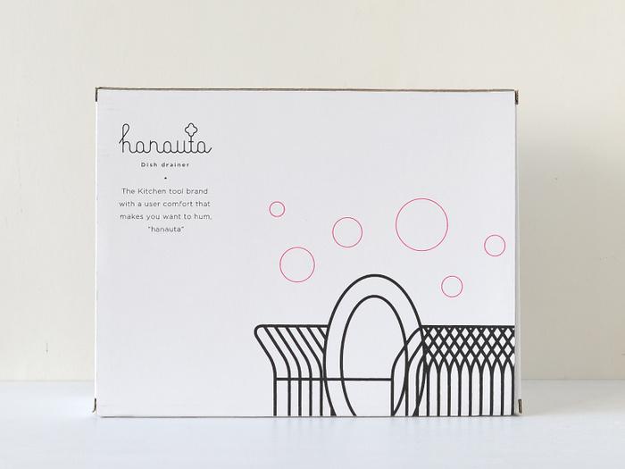 パッケージも可愛くて、引っ越しや結婚のお祝いの品にも良いですね。縦置きと横置きの2タイプがあります。