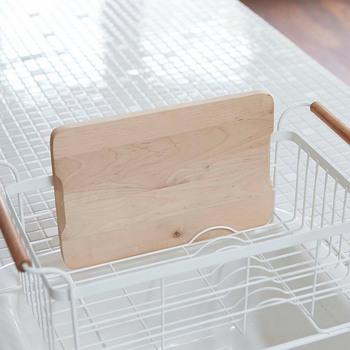 まな板もさっと乾かせて清潔に使えます。