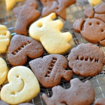 みんなにっこり!思わず笑顔♡スマイルクッキーにチャレンジ♪