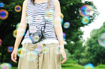 今度のお休みは公園に出かけて大きなジャンボシャボン玉を飛ばしてみてください。日頃のストレスも一緒に飛んでしまうかもしれませんよ♪