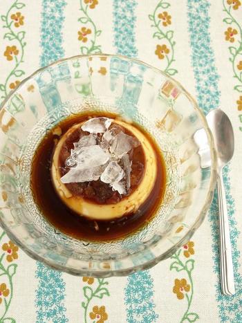 コーヒーとコンデンスミルクで作るベトナムコーヒーをイメージしたプリン。蒸し器不用で手軽にできちゃうレシピです。