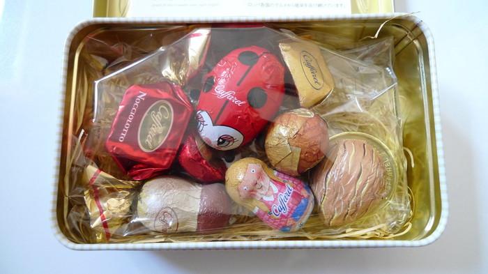 1826年に創業されたイタリア・トリノのチョコレート会社「カファレル」。チョコレートの街トリノならではの濃厚な味わいのチョコレートが、おちゃめなアニマルモチーフのホイルに包まれています。