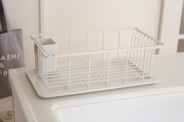 蓋はドレーナーの受け皿にもなりますし、ケースはドレーナーの収納の他、洗いカゴとしても利用できる優れものです。