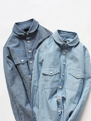 秋冬のワードローブにかかせない長袖シャツ。1枚で着ても、重ね着しても使える頼もしいアイテムなので、何枚あっても困りません。バリエーション豊富な長袖シャツですので、いろいろな着こなしが楽しめるでしょう。是非、お気に入りの1枚を買い足してみてはいかがでしょうか♪