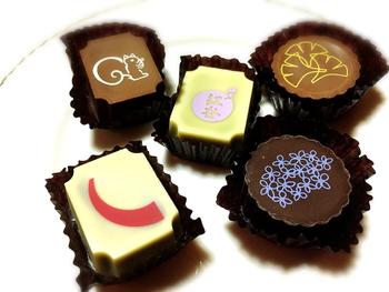 かわいい絵柄でお土産ににもぴったりなチョコレートもおすすめ。