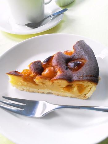 自家製のキンカンケーキは、ほどよい甘さでとっても優しいお味です。ゆったり時間が流れている「田」、オススメですよ。