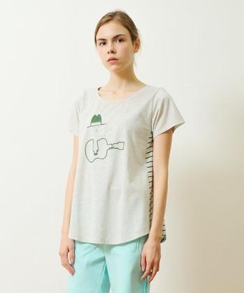 イラスト、ロゴ、フォト、グラフィック、コラージュなど、さまざまなデザインが揃うグラニフのTシャツはおしゃれさんにとっても人気!