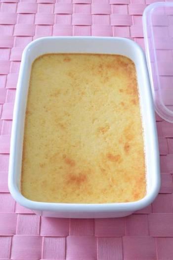 ホーローバットなら容器にバターを塗る手間が省けます♪ たくさん作って好きなだけ召し上がれ。