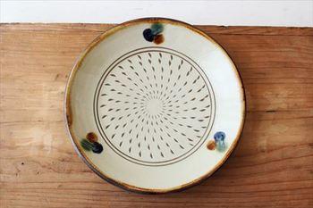 直径約21cmの「七寸皿」。メインの皿としてはもちろん、カレー皿としてもオススメです!