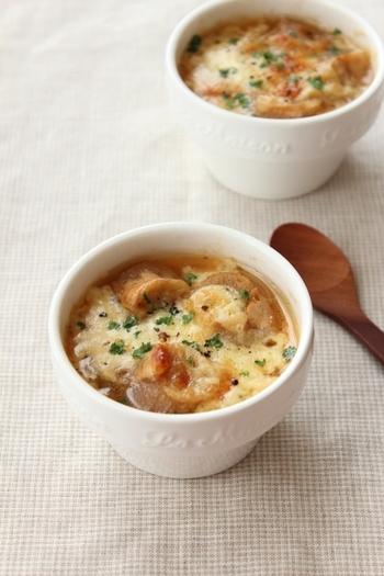 玉ねぎは血液をサラサラにしてくれる効果があります。スープで血液をさらさらにして、代謝の良い体に!