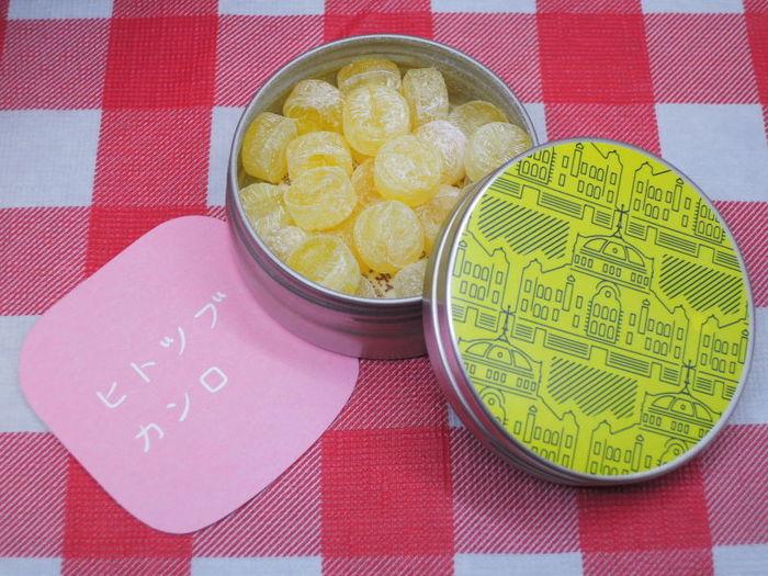 缶入りのキャンディーもおすすめです。 可愛いデザインの缶は、食べ終わった後に何を入れるかもお楽しみ♪ こちらは東京駅舎復元記念商品の、グランスタ限定商品。東京駅がおしゃれにデザインされています。