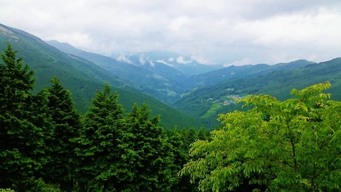 徳島県の平家落人伝説が残る土地・祖谷(いや)。なかでも落合地区の幻想的な風景は「重要伝統的建造物郡保存地区」に指定されています。