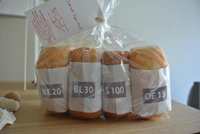 ダンディゾンでは常時4種類の食パンを取り扱っています。食パンのそれぞれの特徴について簡単にご紹介したいと思います!