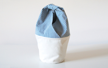 カゴバッグの中に入れる布製のバッグ。