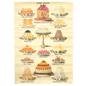 ヴィンテージ風のラッピングペーパーもおしゃれ。手作りのお菓子など包めば、世界で一つだけのプレゼントになりますね。