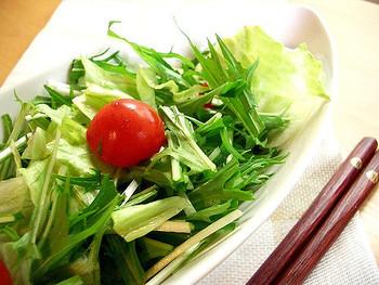 サラダに添えれば見た目のオシャレ度もアップ♡食感も楽しめます。チップスが添えられているだけでプロっぽい雰囲気に。