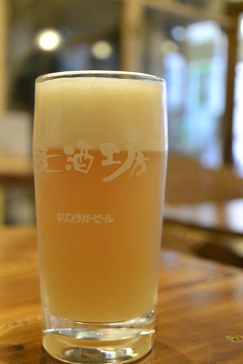 自家製ビールはその時によって何があるかわかりません。「荻窪の人たちの口に合うビールを」と、試行錯誤の日々だそうです。