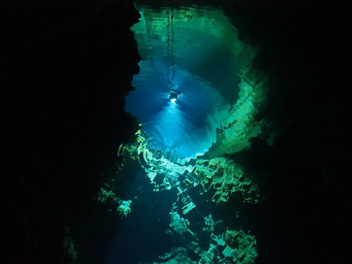 地下から湧き出る水は世界有数の透明度を誇り、日本で一番美味しい水として紹介されることもあるのだとか。 神秘的な場所から生み出される水が、おいしさのヒミツです。