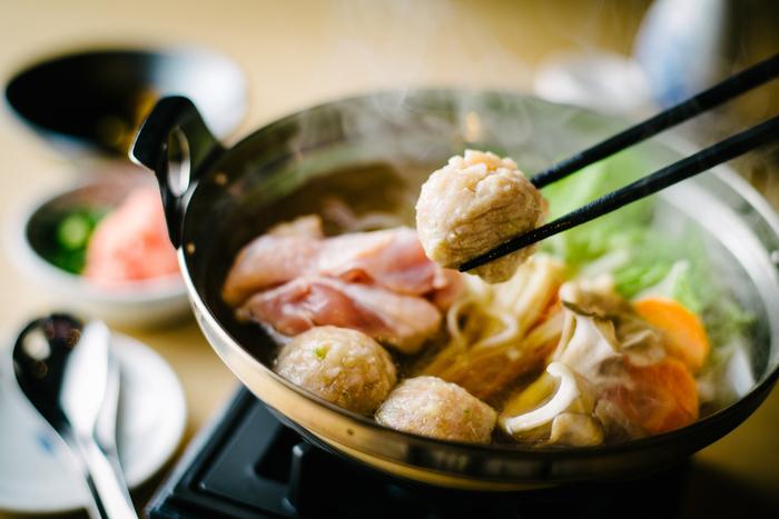 しっかりとしたお食事も勿論用意されています。一人前の食べやすいサイズが嬉しいブンカ鍋はオリジナルメニュー。オリジナルブレンドの出汁と自家製のたれで頂きます。