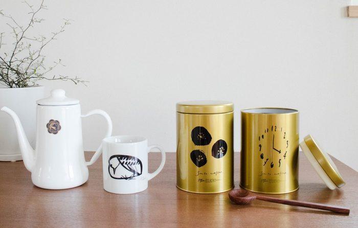 マグカップとセットで毎日のコーヒータイムをお洒落に過ごしてみませんか?
