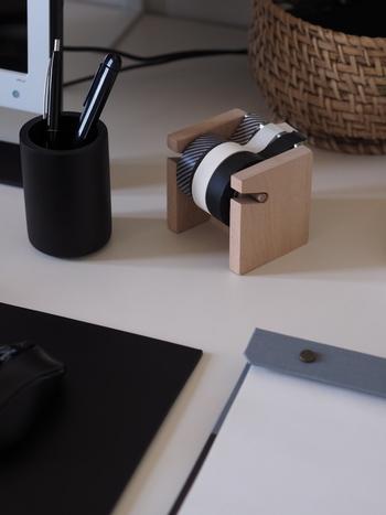 コンパクトにまとまるので、オフィスの机に置いても良さそう。