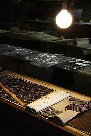 東京染小紋の製作の見学・体験ができる「東京染ものがたり博物館」。創業140年余りの老舗です。