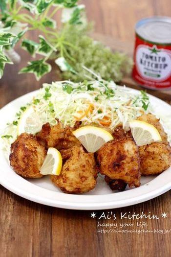 下味の代わりに塩麹に漬けるだけのお手軽レシピ。お肉が柔らかジューシーになるだけではなく、ヘルシーなのもうれしいですよね。