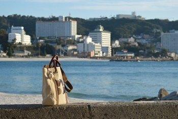 大きなキャリーはホテルのクロークに預けて、小ぶりなサイドバッグ1つで身軽に観光に出掛けましょ♪どんなタイプのバッグがお好みでしょうか?