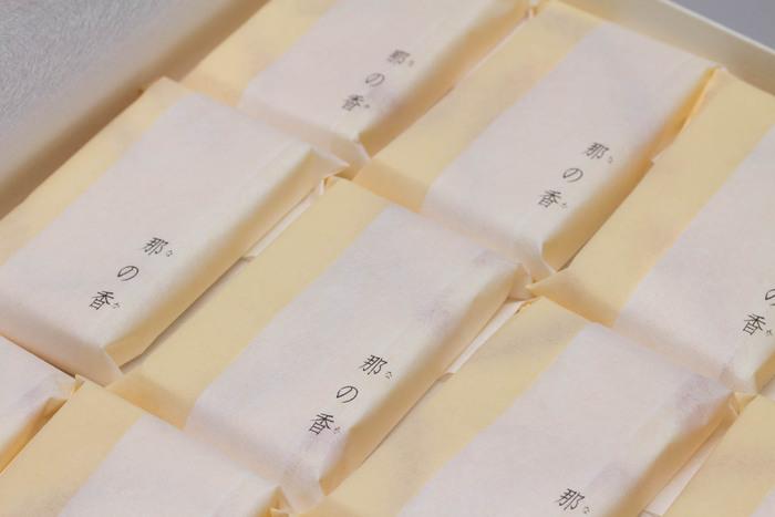 和紙に包まれたラッピングも高級感がありますので、目上の方へのお土産にもぴったりです。