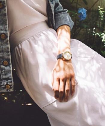 初夏のおしゃれを格上げするキーアイテム【着こなし別】おすすめ『腕時計』カタログ