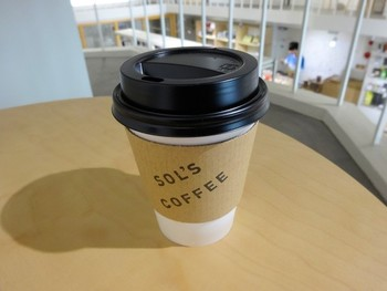 雑貨屋さんでおいしいコーヒーが飲めるなんて、得した気分です。