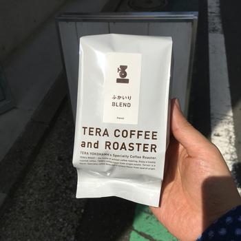 オーナーさんが厳選したコーヒー豆はどれも格別♪自宅でもスペシャルなコーヒーが堪能できますよ。