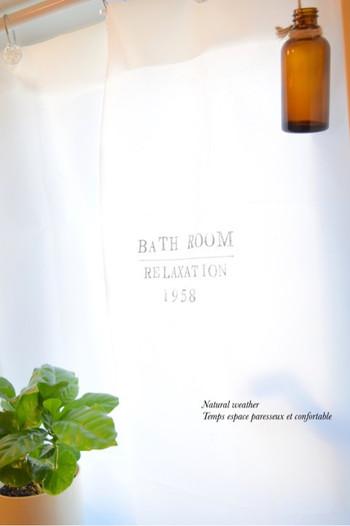 光を取り込める、すてきな印象のバスルームのできあがり。