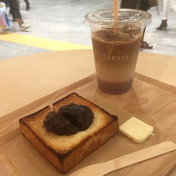 """5世紀に渡って和菓子を作り続けてきたあの""""とらや""""が22世紀のスタンダードとなるカフェを目指しているそうです。コーヒーと餡子の素敵なコラボレーションを味わってみましょう。"""
