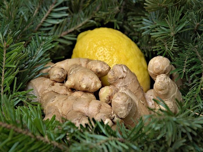 レモンやライムなどお好みのフルーツに、ほんの少し生姜を加えて、ピリリと大人のフルーツジンジャーティーに。生姜はスライスでもすりおろしでもいいですね。蜂蜜などで甘さを調整するのもアリ。
