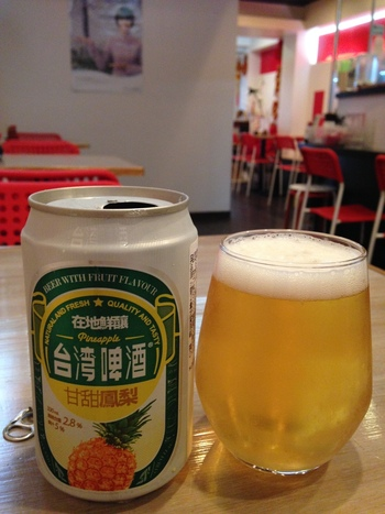 台湾ビールやフレーバービールも取り扱っていますので、麺線と一緒に楽しんでみては?