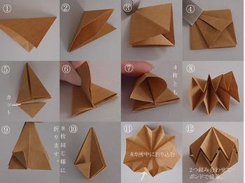 型紙なしで作れるのがうれしい◎。順を追えば、意外と簡単につくれます。