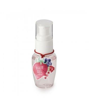 ベリー系の甘い香りのヘアオイル。 イチゴの成分が髪に潤いを与えてくれます。