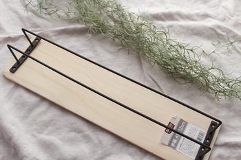 「アイアンバー」と「木材」はサイズがピッタリなので、切る必要がないのもうれしいですね。