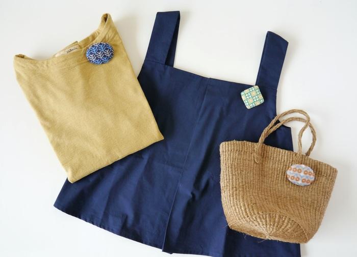「月いちサルビア」として、月に一度、第1土曜日にオープンするサルビア。5月のオープン日は5月6日の土曜日です♪ そこでは、「よそおいブローチ」の新作の発売が予定されています。「よそおいブローチ」は、サルビアが新潟の塚野刺繍さんとつくっている、刺繍のブローチ。北欧テイストのデザインもとっても素敵です♡