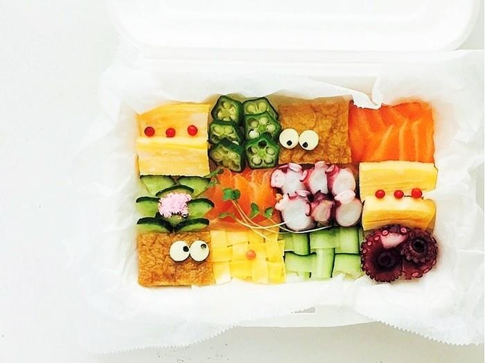 食べるのがもったいない!宝石みたいに綺麗な「モザイク寿司」をおもてなしに♪