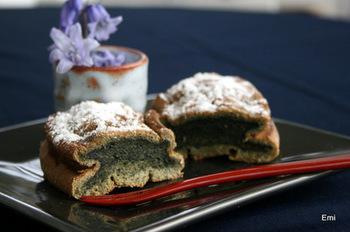 フランスに伝わるお菓子「ガトーサヴォワ」に、よもぎを使ったアレンジレシピです。米粉とタピオカ粉を使用しているので、食感はモチモチふんわりのシフォンケーキ風♪